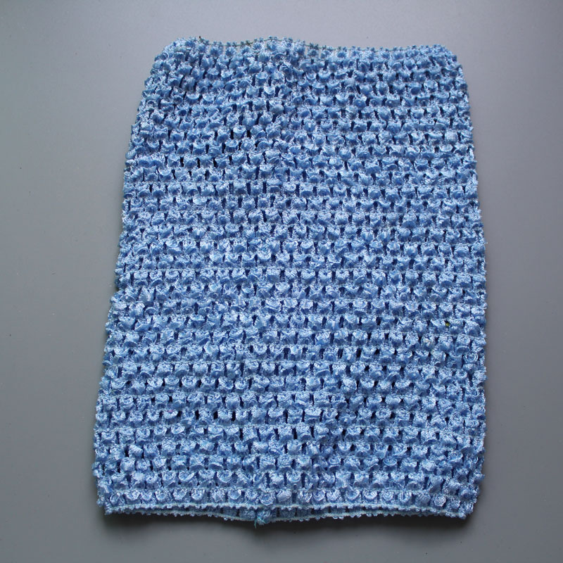New Arrival 20cm X 23cm Kids Girl 9Inch Crochet Tutu Tube Tops Chest Wrap Wide Crochet Headbands Free Shipping 10pcs/lot