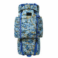 100L large capacity outdoor mountaineering bag to transport camping hiking rucksack waterproof military tactical backpack