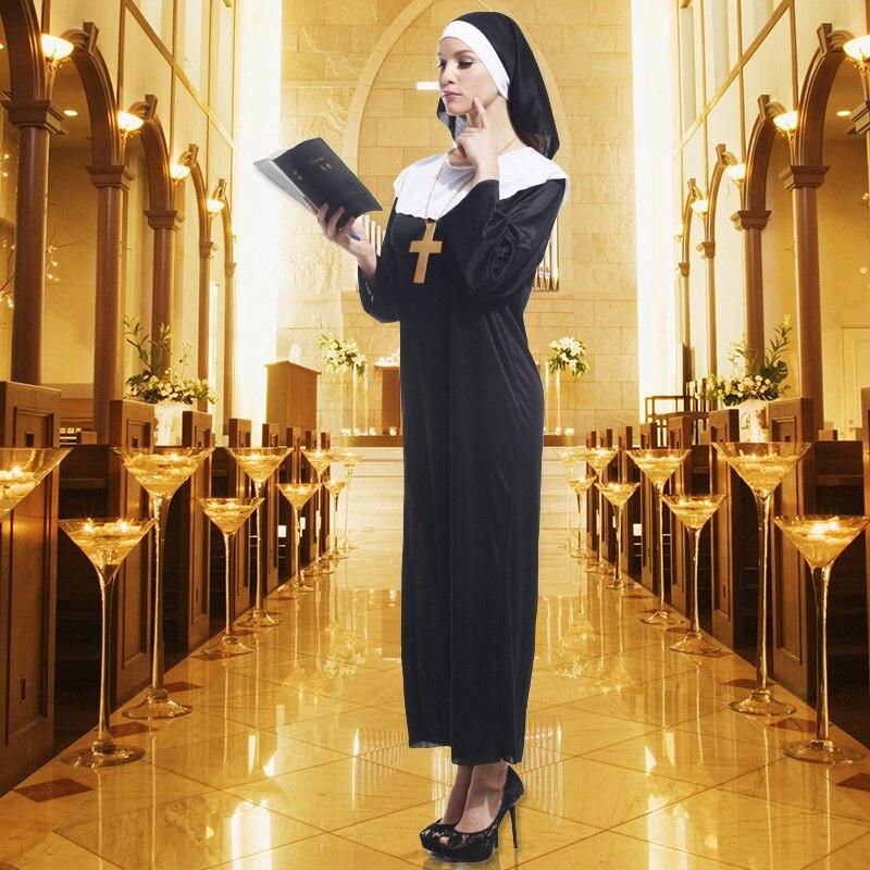 Womens Sexy Nun Costume