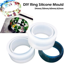 1pcs UV Resin Jewelry Liquid Silicone Mold Wide Bracelet Resin Molds For DIY Intersperse Decorate Jewelry Making