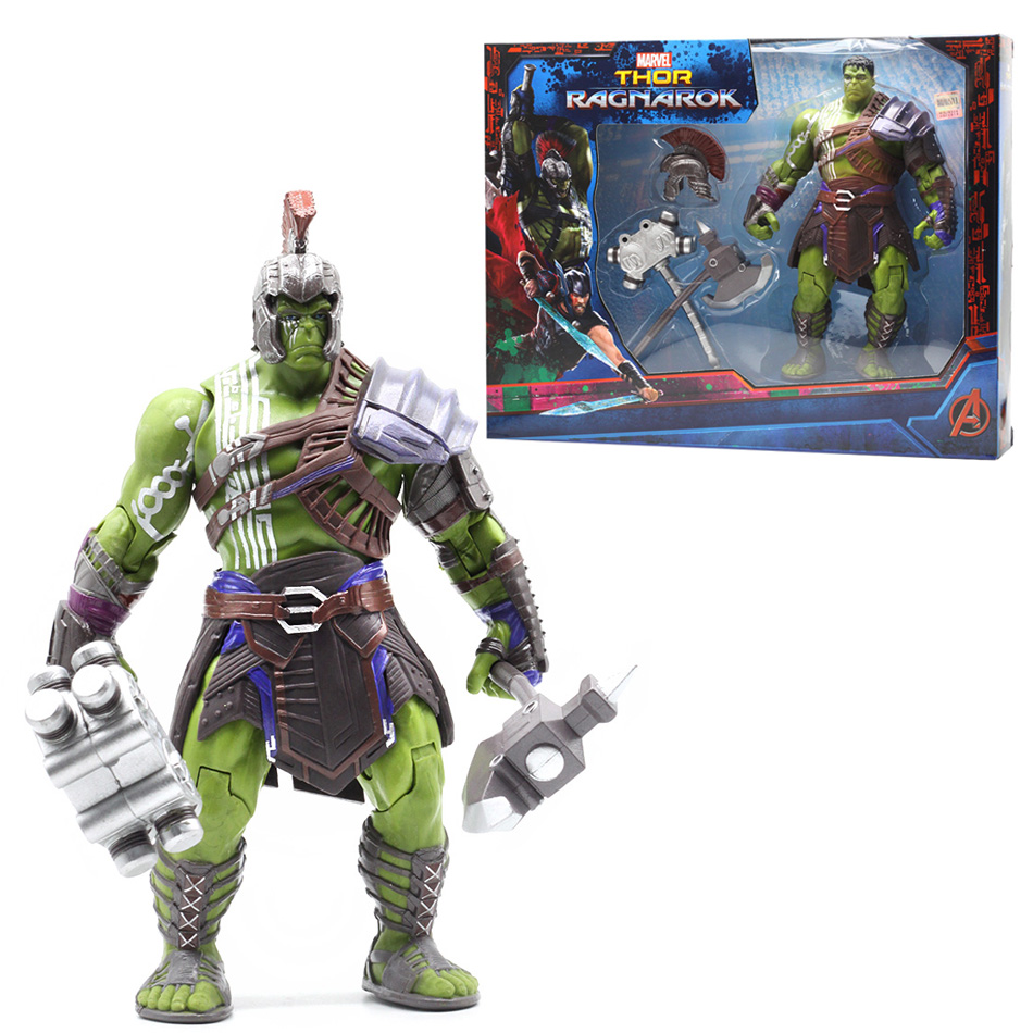 Disney Arrival Thor 3 Ragnarok Hulk Robert Bruce Banner PVC Action Figure Collectible Model Toys Free Shipping For Gifts genuine mezco texas chainsaw massacre saw massacre pvc action figure collectible model toy christmas gifts free shipping