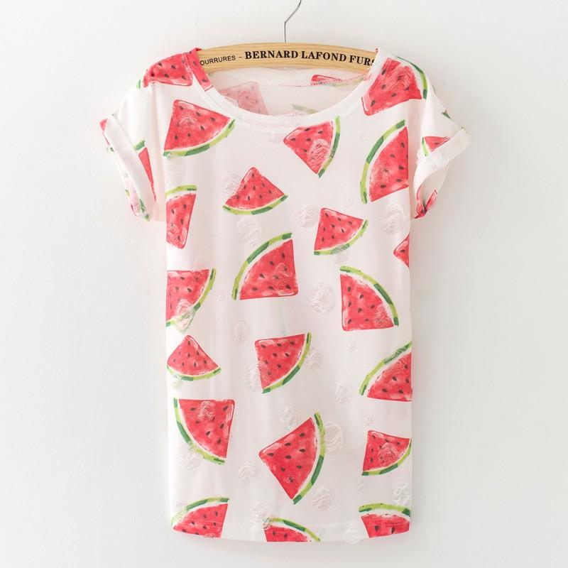 HTB133QeKVXXXXbMXXXXq6xXFXXX3 - Tassel Design Hole T-shirt Print Frayed Hole T Shirts