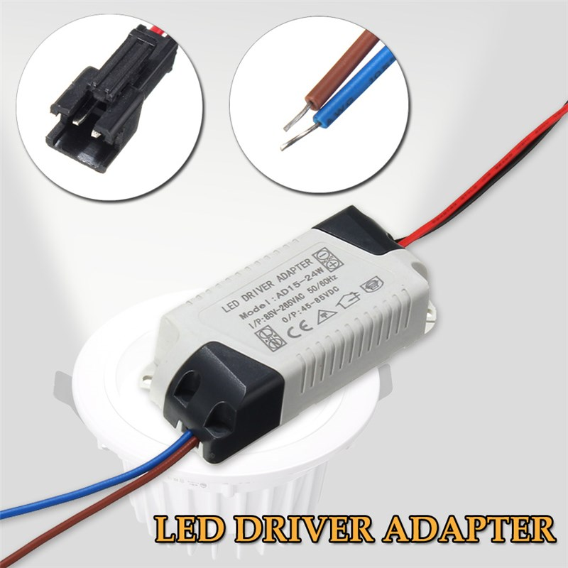 AC85-265V 300mA LED Light Lamp Lighting Transformer LED Driver Adapter Power Supply 1-3W 5W 7W 12W 15W 24W фильтр угольный cf 101м