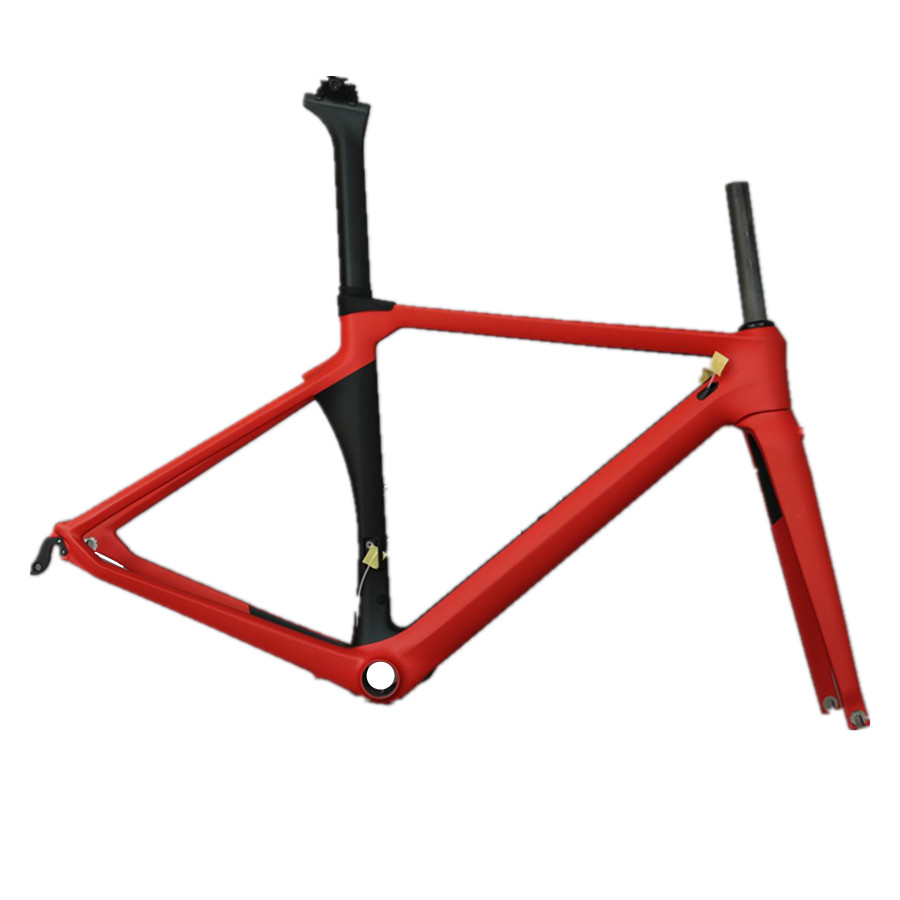 2019 Aero Road Carbon Frame SHI-MANO 9010/6810/5810 Or TRP-731 Double Mount Bike Frame  TT-X8