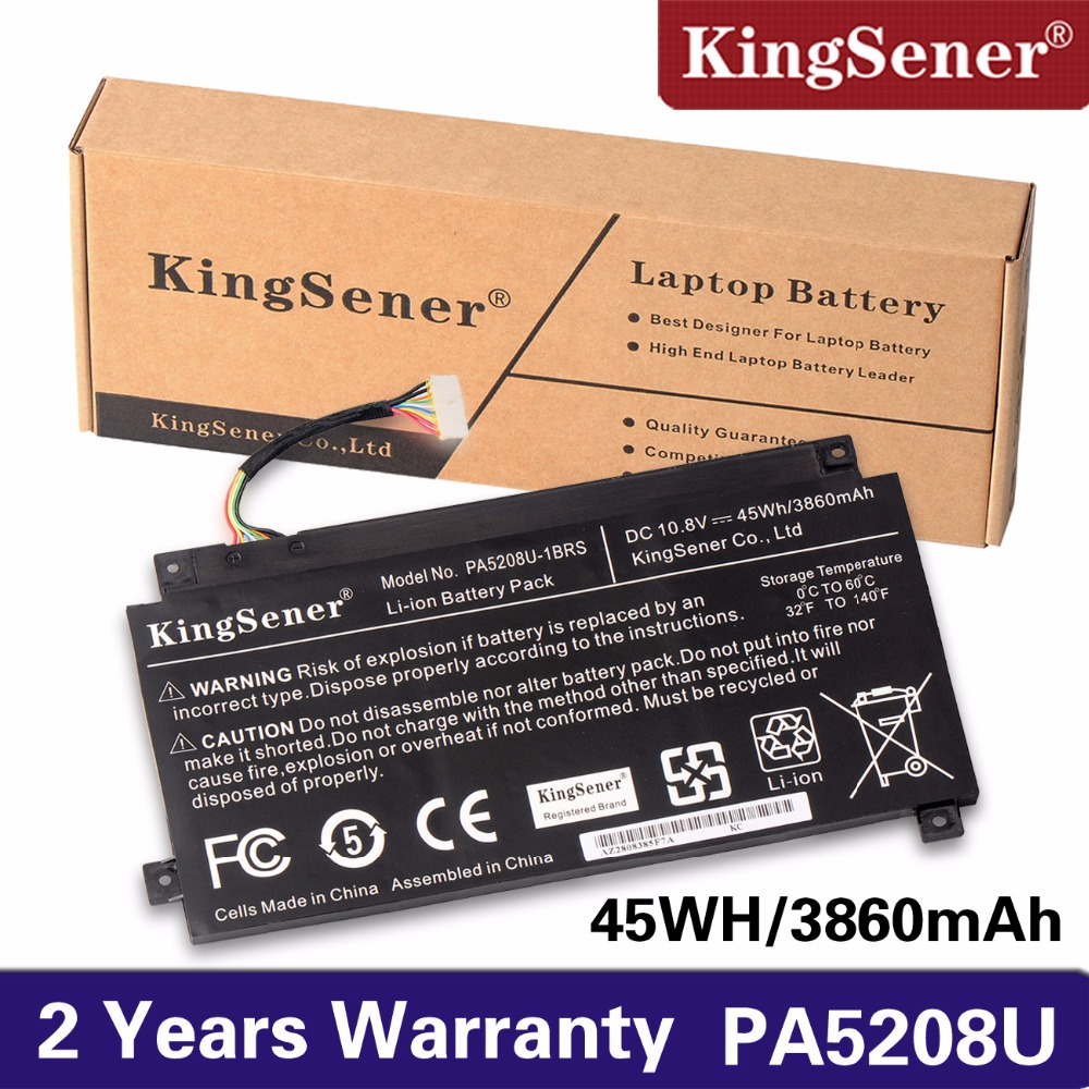 KingSener 100% New PA5208U-1BRS PA5208U Battery for Toshiba Chromebook CB30 CB35 CB35-B3340 CB35-B3330 for Satellite E45W P55W