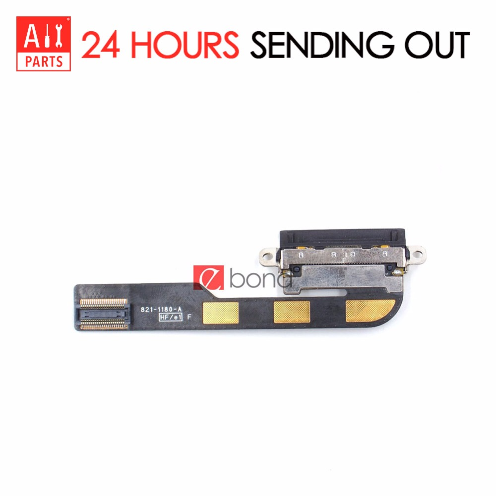 USB Charger Charging Dock Connector Port Flex Cable For Apple iPad 2 Original Replacement Part with 10 in 1 Opening Repair