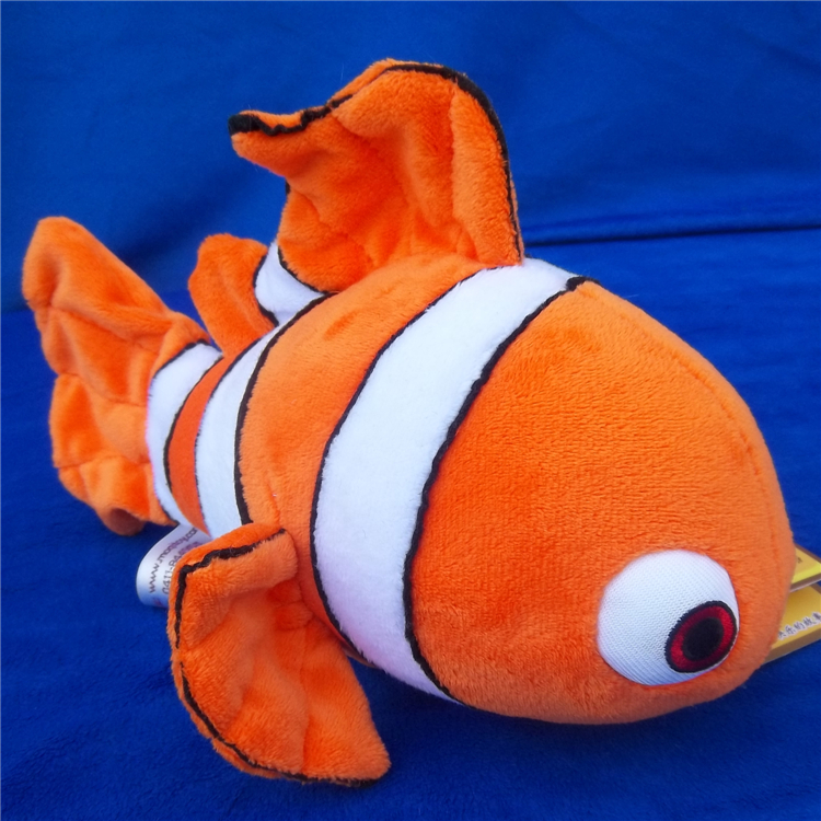lovely clown fish plush toy,about 24cm, high quality goods,Christmas gift h12