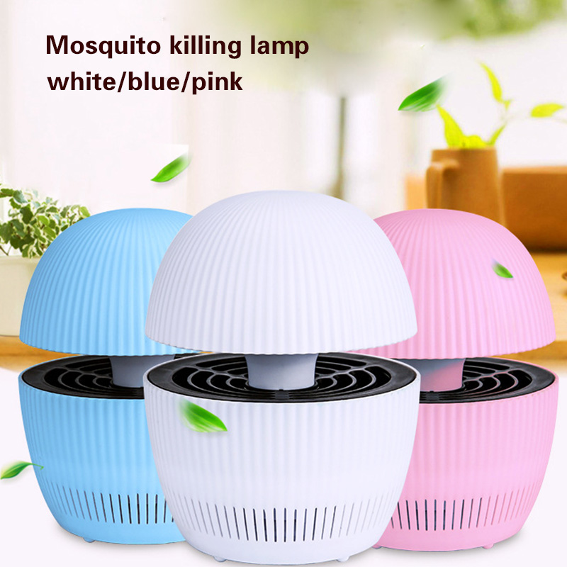 Safety Photocatalyst Mosquito Killer Lamp USB Rechargeable AntiMosquito Repellent Light Insect Killer 3 Color