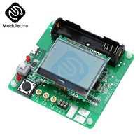 Diseño portátil Inductor-condensador de MG328 pantalla LCD multifunción transistores MOSFET diodos probador con alambre para Diy