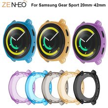 TPU Protector Case Cover Shell 360 Degree frame For Samsung Gear Sport Protective Shell Covers For Samsung Gear Sport Cases все цены