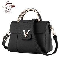 Fashion Single Women Shoulder Messenger Bag PU Leather Clutch Bag Ladies Handbags Brand Messenger Bags Sac A Main Bolsas Femme