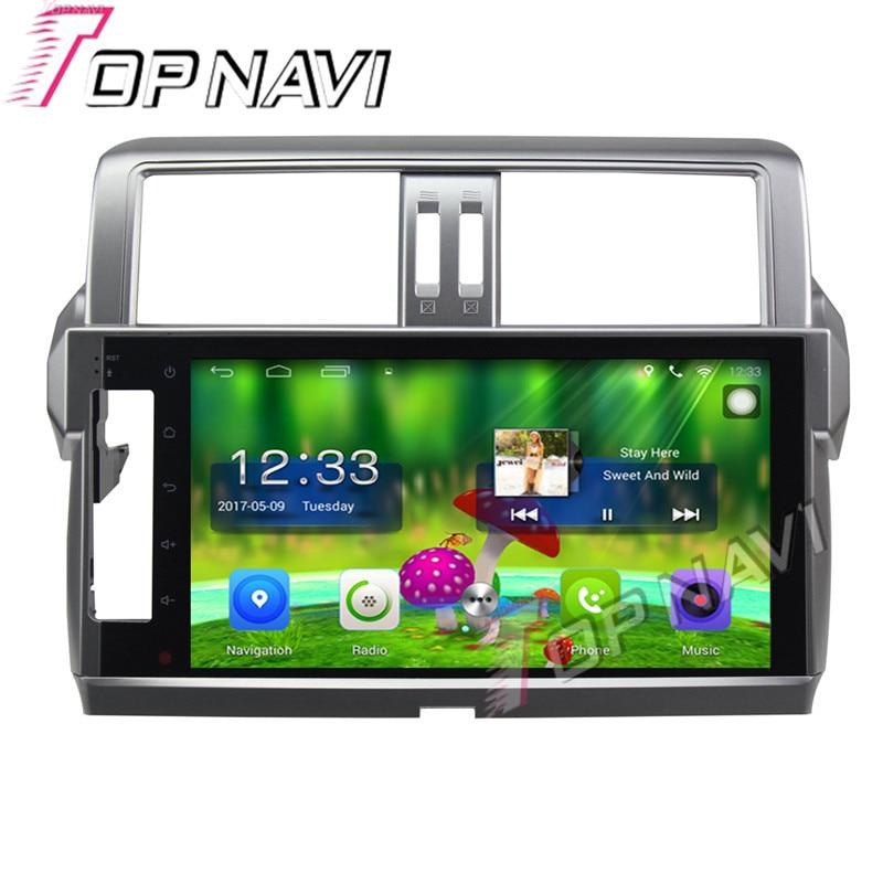Topnavi 10 1 Quad Core Android 6 0 Car GPS Navigation For TOYOTA Parado 2014 font