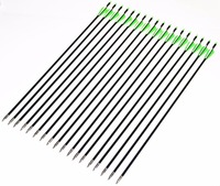 18/25/36pcs Target Practice Steel Point Fiberglass Arrow 82cm 30 80ibs Hunter Arrowhead Archery Arrows for Shooting Hunting Bow