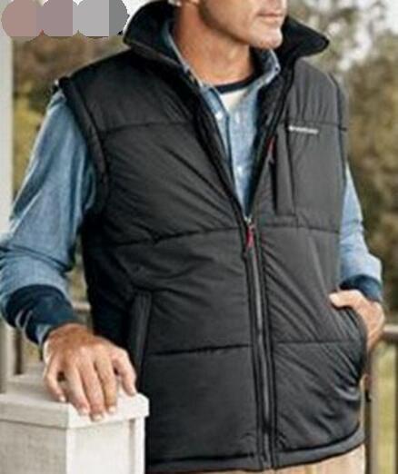 Stand collar 7.4V 2600mAh 3 levels adjustable Temp. Heated vest Winter Thermal Vests Electric heating vest