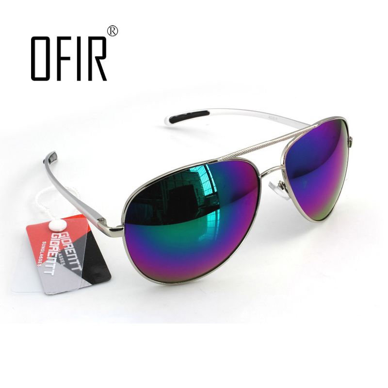 OFIR Cheap Pilot font b Sunglasses b font Men Brand Designer Sun Glasses Women Oculos De