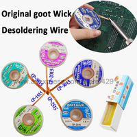 5x Original Desoldering Wire BGA Tools Goot Wick With Soldering Rosin Braid For Iron Electronic IC