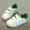 Высокое качество Детей Shoes Мальчики дети повседневная shoes девушки осень 2017 Новая Коллекция Весна Осень белые спортивные shoes fashion kids shoes