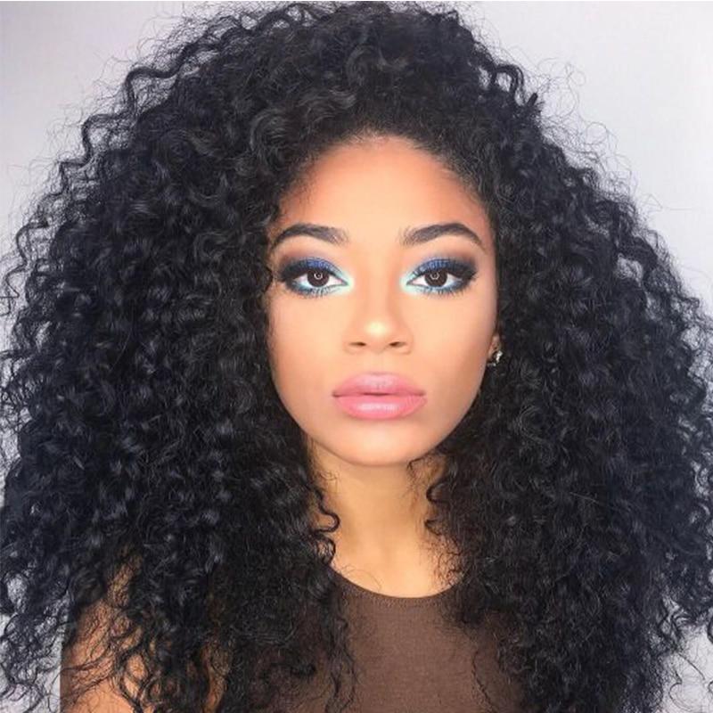 Bohemian Kinky Lace Hair Wig Aliexpress Com Buy 150 Kinky