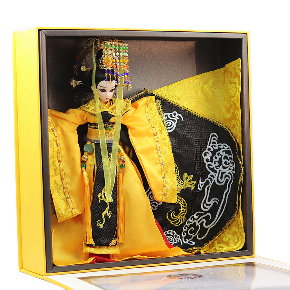 Fortune days doll East Charm name by Empress Wu zetian including clothes Original doll Limited Collection 35cm gift box