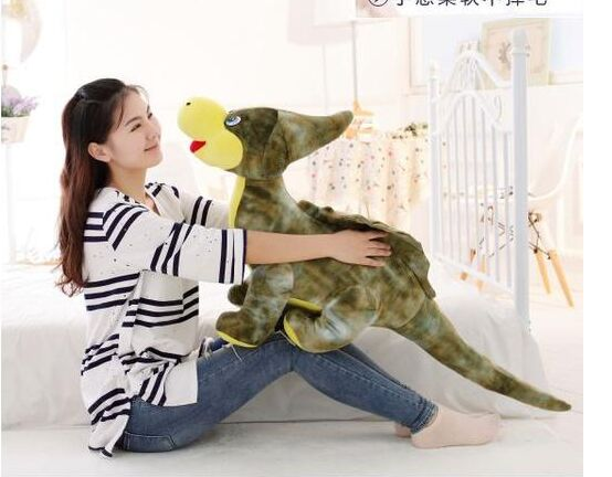 large 110cm cartoon dinosaur monoclonius plush toy soft throw pillow christmas gift b0189 large 180cm cartoon crocodile soft plush toy throw pillow toy christmas gift h691
