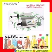 Цифровой контрольный наполнитель для жидкости, напитков, пива, молока, уксуса, парфюма, воды, масла, Eliquid, розлива Электрический