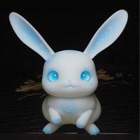 BJD Pet Rice cake bjd rabbit Ruby spot BJD doll small pet peter rabbit