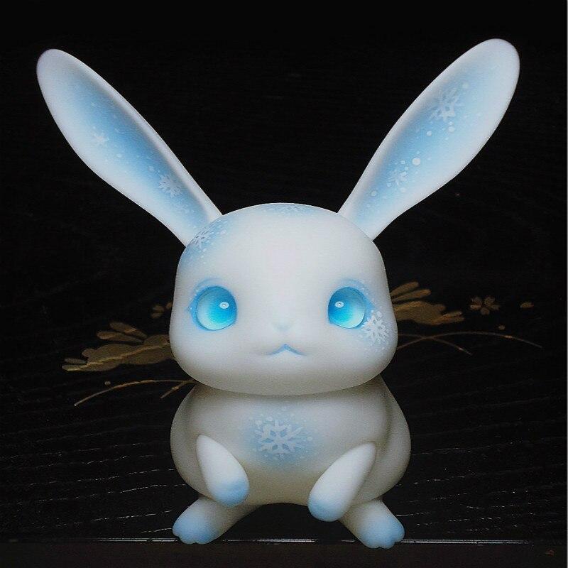 BJD Pet gâteau de riz bjd lapin rubis spot BJD poupée petit animal peter lapin