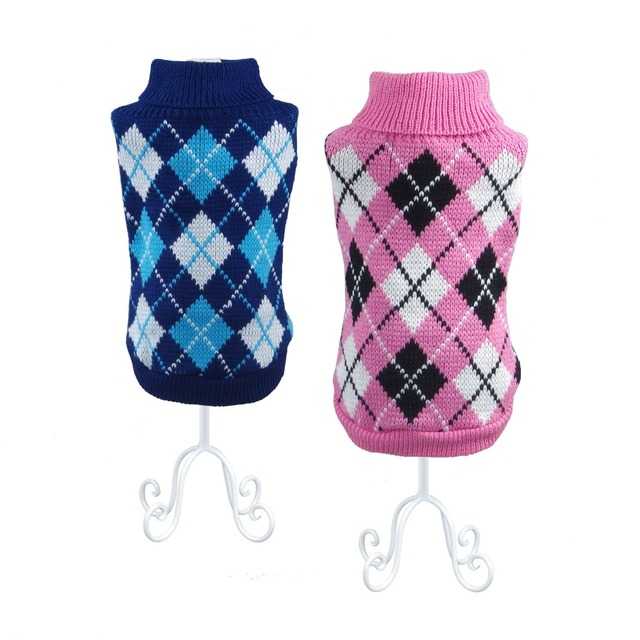 Dachshund Sweater with Rhombuses