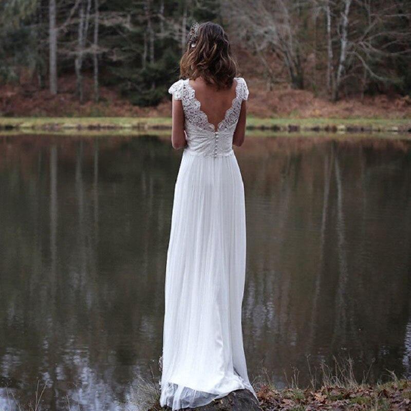 LORIE Bech Boho wedding Dress Bridal  (2)