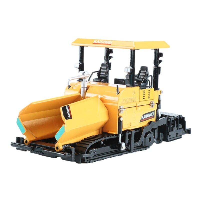 KDW Alliage finisseur de route Véhicules D'ingénierie modèle de voitures Métal Finisseur camion jouet Pour Collection jouets pour enfants