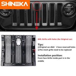 Image 4 - SHINEKA Kit de captura capucha de bloqueo inteligente, parrillas de carreras, conjunto de seguridad antirrobo, conjunto de bloqueo 2018 para Jeep Wrangler jl, accesorios
