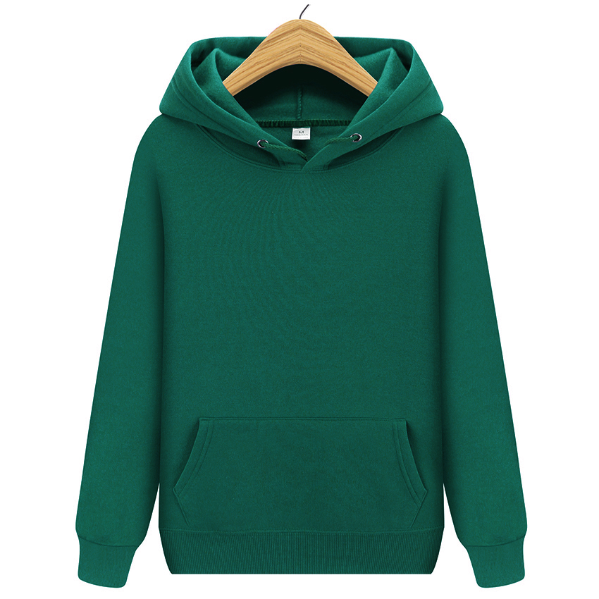 2019 New Men Brand Hooded Hoodies Streetwear Hip Hop Mens Hoodies And Sweatshirts Solid Red Black Gray Pink Green White Purple(China)