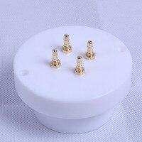 1pc Gold Teflon Tube Socket Big 4Pin 211 845 805 Valve Amplifier Part