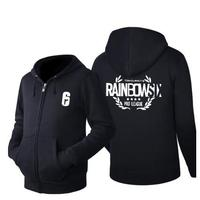 High Q new fashion Tom Clancy's Rainbow Six Hoodies man women slim couple outfit casual clothes