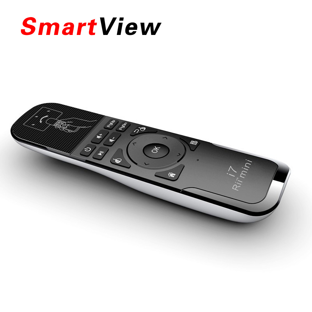 Original Rii Mini i7 2 4G Wireless mini Gaming Fly Air Mouse Remote Control for Android