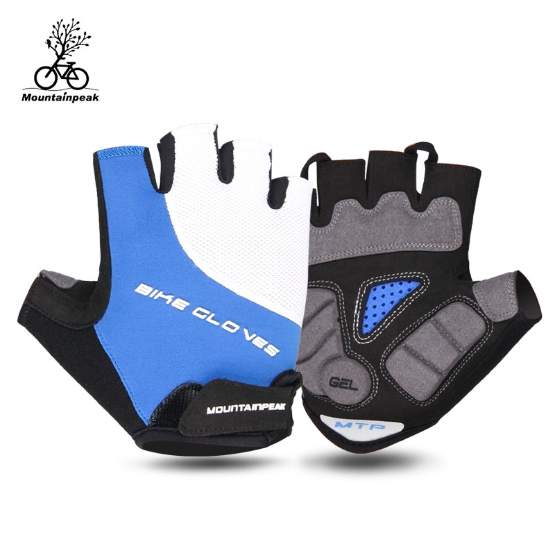 Cycling Gloves Half Finger Men Women Bicycle Gloves Guantes Ciclismo MTB Road Mountain Bike Gloves Mittens Riding Bike Gloves longkeeper cycling gloves full finger mens sports breathable anti slip mountain bike bicycle gloves guantes ciclismo