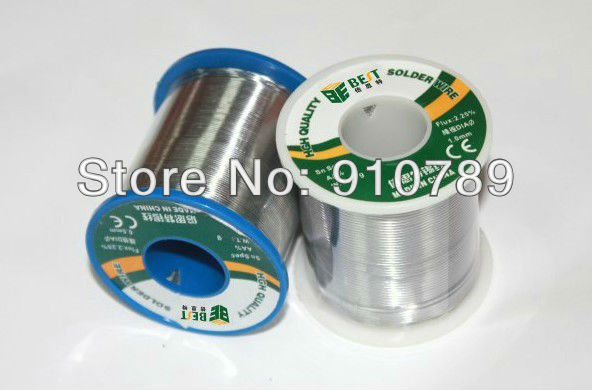 500g 0.5/0.6/0.8/1.0mm Tin Lead Soldering Wire solder wire weld accessory qitian b5510200g lead tin soldering wire wick roll silver