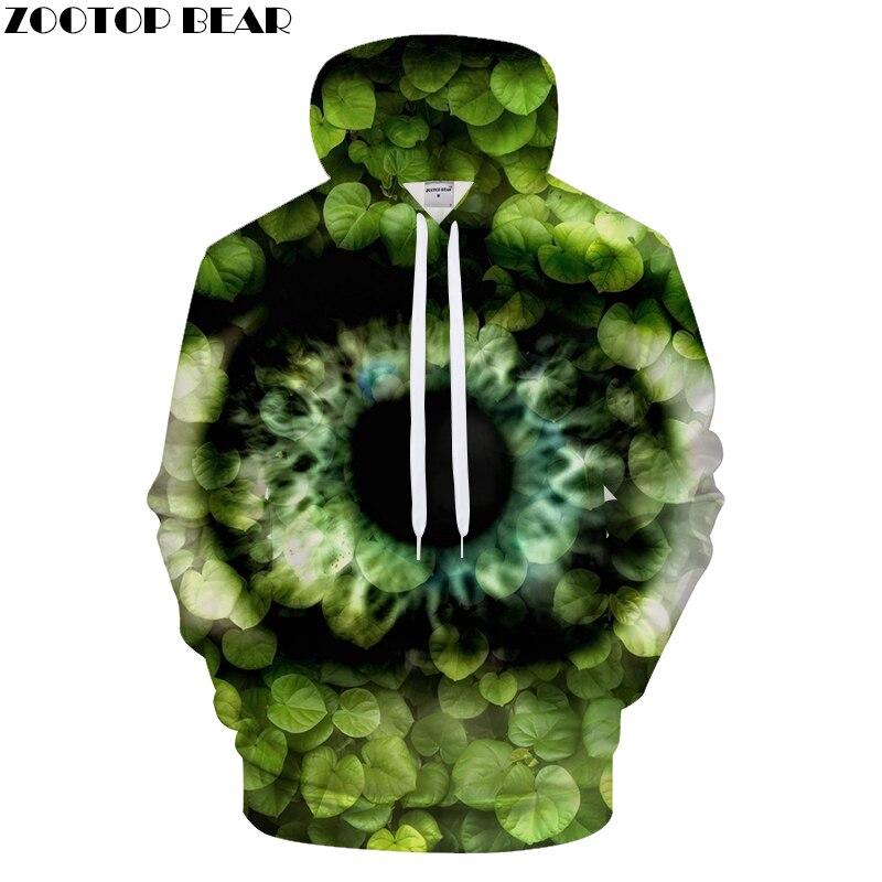 Cissus kerrii 3D Hoodies Men Print Hoody Casual Tracksuit Groot Sweatshirt LongSleeve Pullover Harajuku Leaf DropShip ZOOTOPBEAR