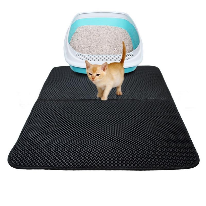 Urijk Double Waterproof Cat Mat For Pet Eva Double-layer Cat Litter Mat L/m/s Hot Sell Pet Cat Dog Puppy Mat/ Bed Pads