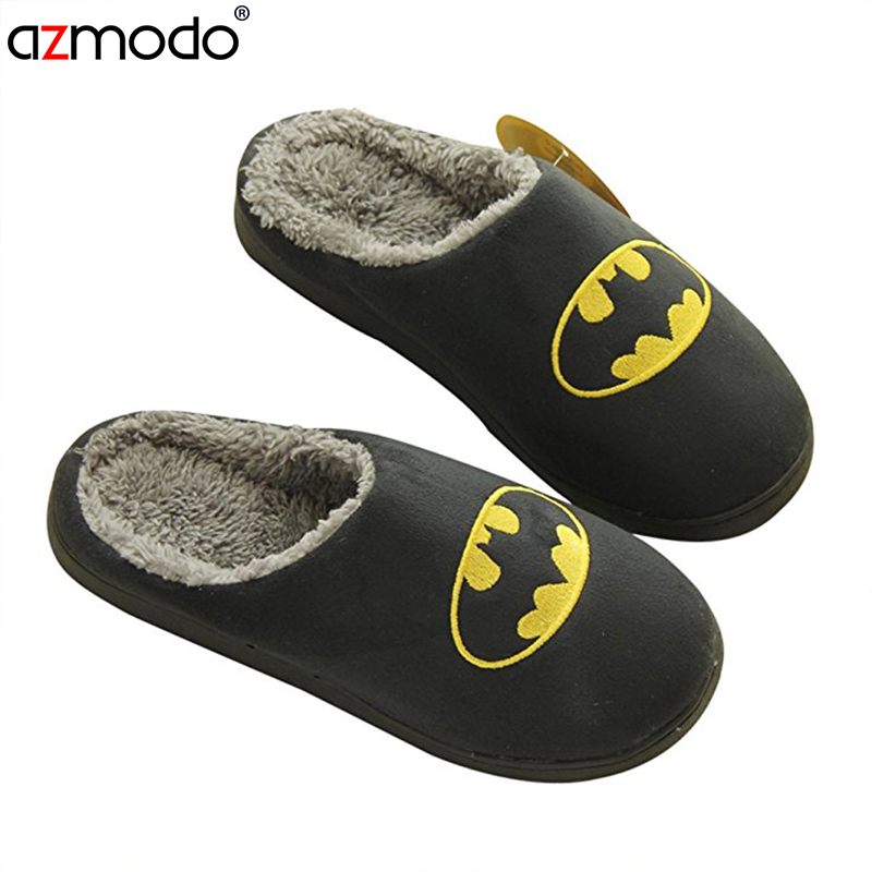 slippers house Men's shoes home plush schinelo masculino House slippers Lovers men adult slipper man winter shoes fur slippers(China)