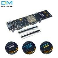 ESP32 ESP-32 ESP8266 0,96 дюймов OLED дисплей 18650 литиевая батарея WiFi Bluetooth щит макетная плата CP2102 модуль