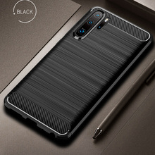 For Huawei P30 Pro Case P30 Cover Soft Carbon Fiber Bumper T