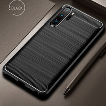 For Huawei P30 Pro Case P30 Cover Soft Carbon Fiber Bumper TPU Silicone Back Cover For Huawei P30 Lite Case For Meizu M6s mbluS6(China)