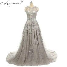 Leeymon Elegant A-line Beading Evening Dresses 2019