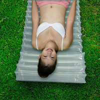Outdoor Sleeping Pad Ultralight Camping Inflatable Mylar Air Mattress Disaster Emergency Inflatable Air Bed Mat Sleeping