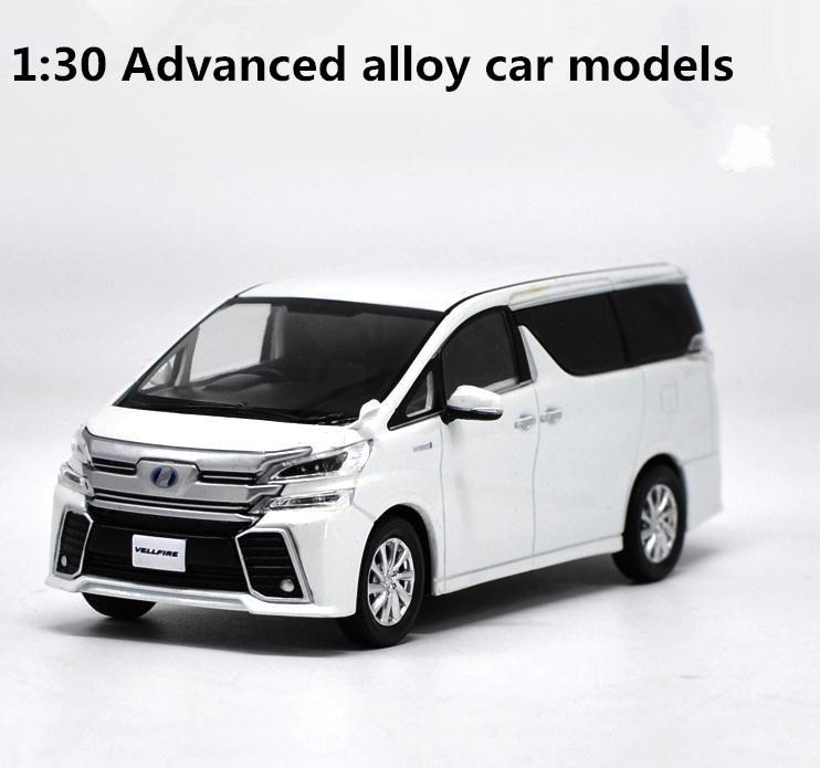 Оригинальная модель Toyota ALPHARD с высокой имитацией, 1:30 литые игрушки для деловых автомобилей, литые металлические игрушки, бесплатная доставк