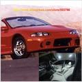 Envío Gratis 11 unids/lote Blanco Interior Del Coche de 12 voltios Luces LED Para Mitsubishi Eclipse Convertible 1995-1999