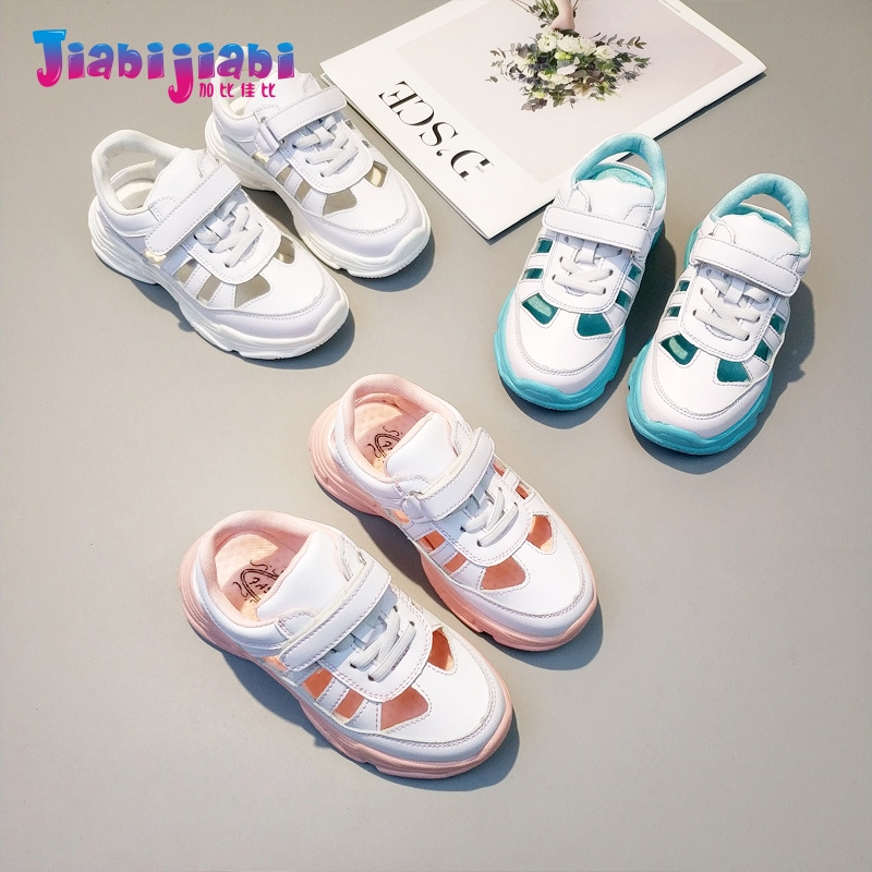 1-12T New Summer Children Student Fashion Boys Sport Shoes Baby Girls Tennis Run Casual  ...