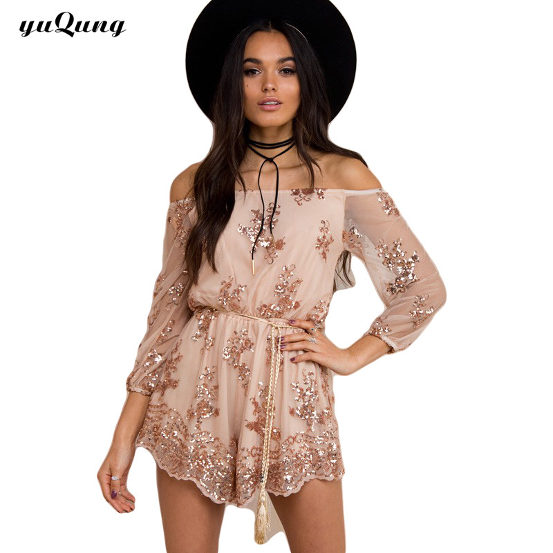 Buy sequins shorts jumpsuits and get free shipping on AliExpress.com a9a91470f