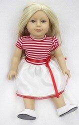 Pursue 18 45cm handmade plastic american girl doll for kids girl fashion reborn baby doll toys.jpg 250x250